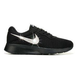 ca2aaa57eb Nike Shoes | Swarovski Crystal Bling Tanjun Black | Poshmark
